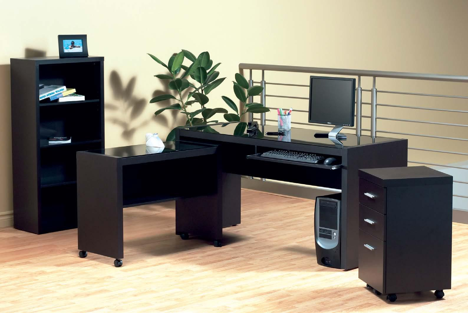 Buy monarch specialties l shaped 60x48 computer desk in for Furniture rental home staging toronto