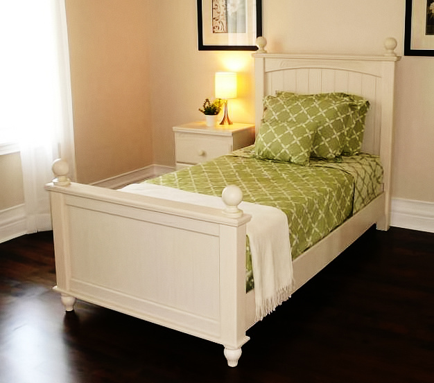 Single Bed Bedroom Set Rental For Home Staging By Luxury Furniture In Toronto