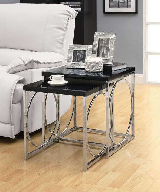 Broadway Nesting Table Black L Toronto Furniture Rental For Home Staging By Luxury Furniture