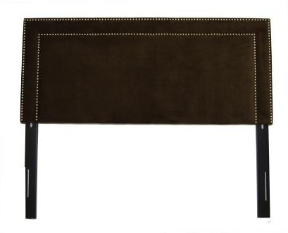 Image Result For Black Velvet Studded Headboard