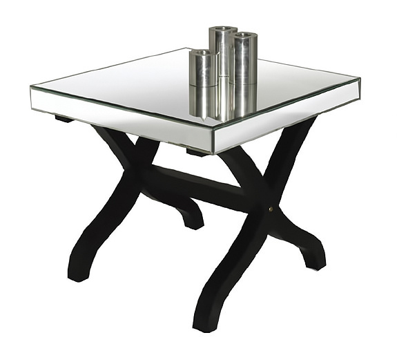 Mirror amp Glass Table Rental For Home Staging By Stagers