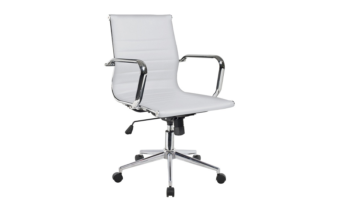 fice Chair Low Back White