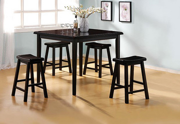 Saddle Dining Set Toronto Furniture Rental For Home Staging By Luxury Furniture