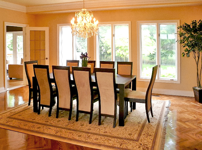 Tiffany Dining Table Toronto Furniture Rental For Home Staging By Luxury Furniture