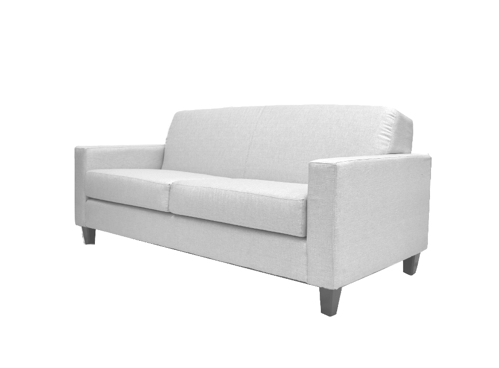 Lexington Sofa Leather White. Leather furniture Rental for Home Staging by Stagers Source in Toronto