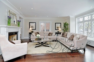 Great Staged Living Room