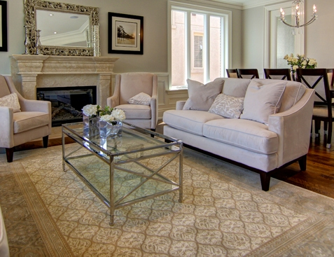 Everest Cream Rug 8x11 Toronto Furniture Rental For Home Staging By Luxury Furniture
