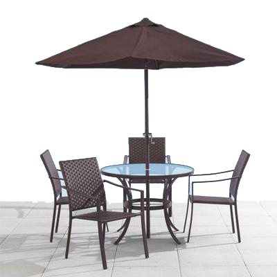 Havana Outdoor Dining Set Toronto Furniture Rental For Home Staging By Stagers Source