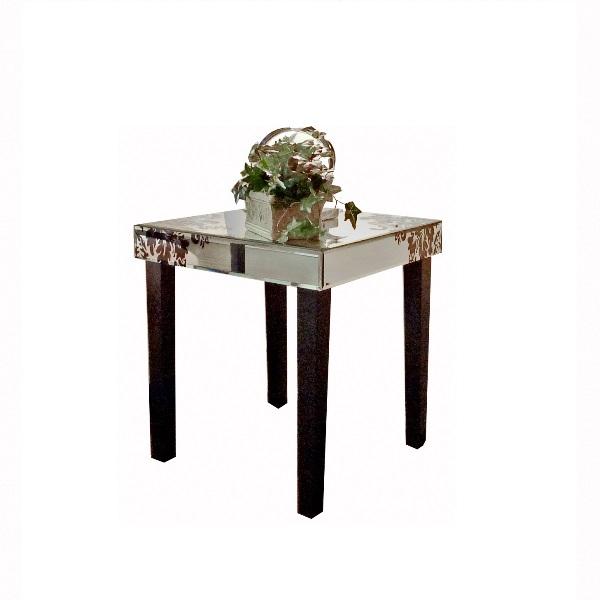 Juliette Damask End Toronto Furniture Rental for Home  : juliette damask end table from stagerssource.ca size 600 x 600 jpeg 39kB