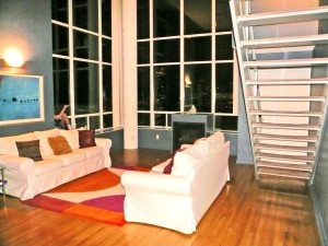 Loft Before Staging